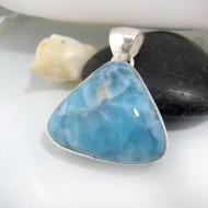 Ларимар треугольник LD4 10666 Larimar-Stone