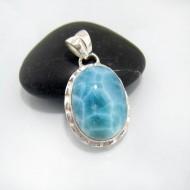 Ларимар ювелирные изделия кулон OV41 10671 Larimar-Stone