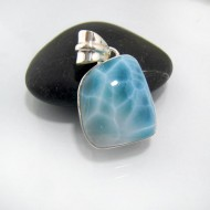 Larimar-Stone Larimar Pendant Freeform FR51 10672 79,99 €