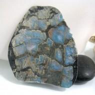 Larimar-Stone Larimar Scheibe / Display C18 Rarität 10795 189,00 €