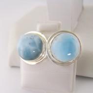 Larimar-Stone Larimar Earrings Round 9063 39,00 €