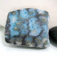 Larimar-Stone Larimar Scheibe / Display C19 Rarität 10796 159,00 €