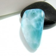 Larimar-Stone Larimar Stone Polished with drilled hole SB157 10713 49,90 €
