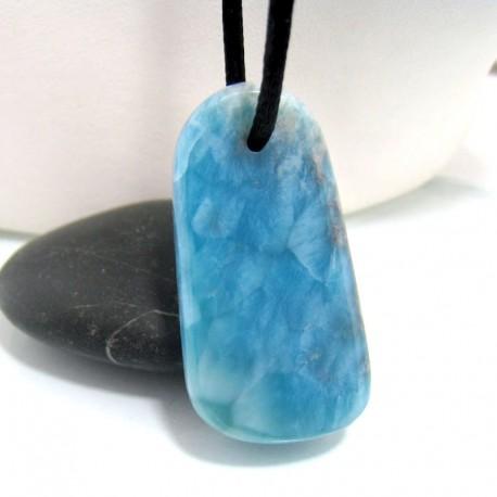Larimar-Stone Larimar Stein mit Bohrung und Band SB126 10685 59,90 €