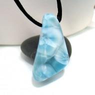 Larimar-Stone Larimar Stone Polished with drilled hole SB129 10688 49,90 €