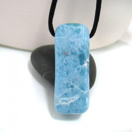 Larimar-Stone Larimar Stein mit Bohrung und Band SB135 10694 69,90 €