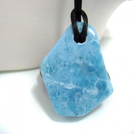 Larimar-Stone XL Larimar Stein mit Bohrung und Band SB137 10696 119,90 €