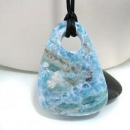 Larimar-Stone XXL Larimar Stone Polished with drilled hole SB147 10706 229,90 €