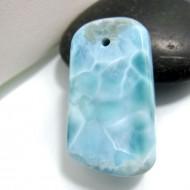 Ларимар камень пробурена SB175 10732 Larimar-Stone