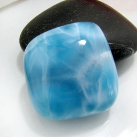 Ларимар без формы кабошон FC132 10835 Larimar-Stone