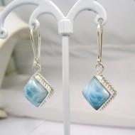 Larimar-Stone Larimar Earrings Square VO1 10876 39,00 €