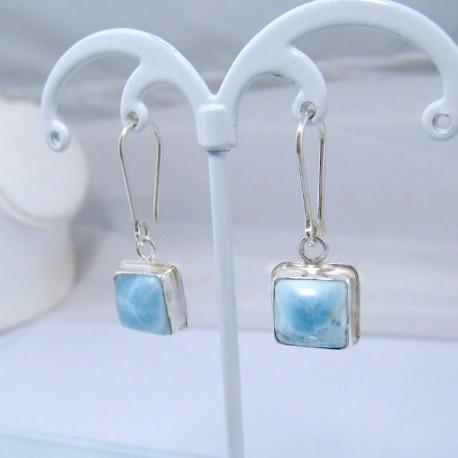Larimar-Stone Larimar Earrings Square VO2 10877 39,00 €