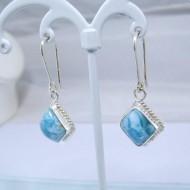 Larimar-Stone Larimar Earrings Square VO3 10878 39,00 €
