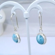 Larimar-Stone Larimar Earrings Oval YO1 10879 39,00 €