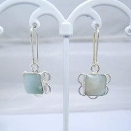 Larimar-Stone Larimar Earrings Square VO4 10880 39,00 €