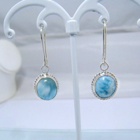 Boucles d'oreilles Larimar ovale YO2 10882 Larimar-Stone 39,00 €