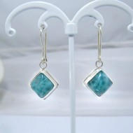 Larimar-Stone Larimar Earrings Square VO6 10883 39,00 €