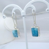 Larimar Earrings Square VO7