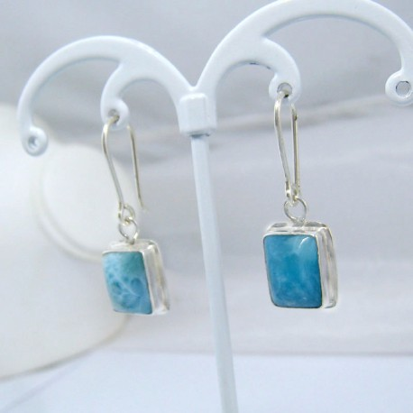 Larimar-Stone Larimar Earrings Square VO7 10884 39,00 €