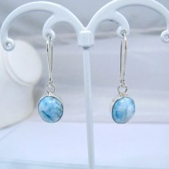 Larimar-Stone Larimar Earrings Oval YO4 10886 39,00 €
