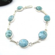 Larimar-Stone Larimar Bracelet 7 Stones LC18 10972 69,90 €