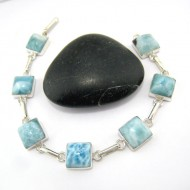 Yamir Luxury Bracelet 7 Quadrangle YA7 10973 Larimar-Stone 89,00 €