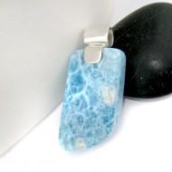 Larimar-Stone Larimar Pendant Freeform LF7 10950 89,00 €