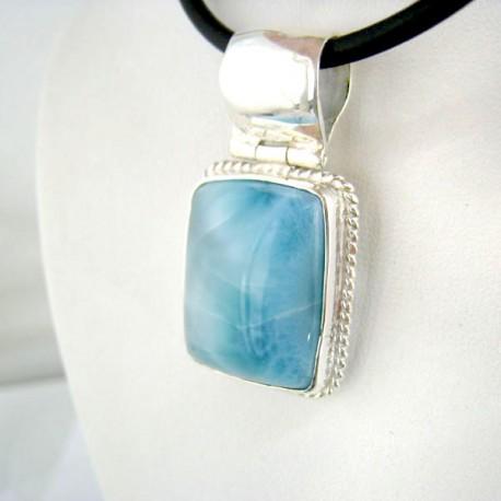 Ларимар ювелирные изделия кулон 9102 Larimar-Stone