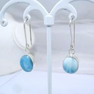 Larimar-Stone Larimar Earrings Oval YO6 10888 39,00 €