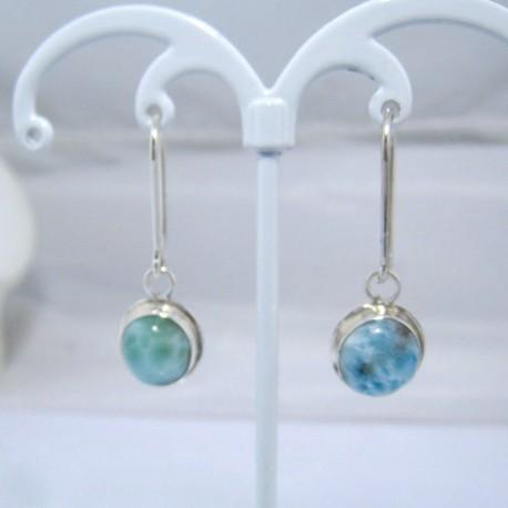 Larimar-Stone Larimar Earrings Oval YO9 10891 39,00 €