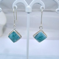 Larimar-Stone Larimar Earrings Square VO8 10893 39,00 €