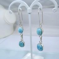 Larimar-Stone Larimar Earrings 2x Oval YO11 10894 49,00 €