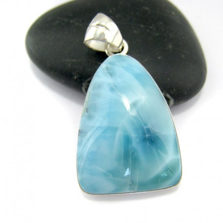 Ларимар kулон свободной форме FR57 10915 Larimar-Stone