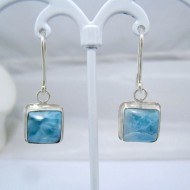 Larimar-Stone Larimar Earrings Square VO10 10898 39,00 €