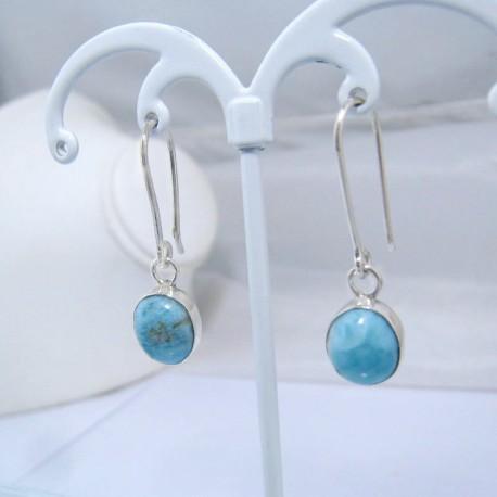 Larimar-Stone Larimar Earrings Oval YO14 10899 39,00 €