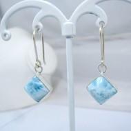 Larimar-Stone Larimar Earrings Square VO11 10900 39,00 €