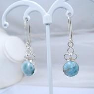 Larimar-Stone Larimar Earrings Oval YO15 10901 39,00 €