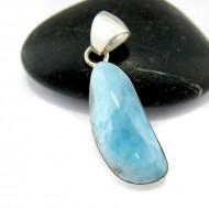 Larimar-Stone Larimar Pendant Freeform FR62 10923 29,90 €