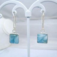 Larimar-Stone Larimar Earrings Square VO13 10904 39,00 €
