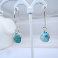 Larimar-Stone Larimar Earrings Oval YO17 10905 39,00 €