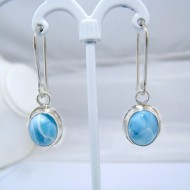 Larimar-Stone Larimar Earrings Oval YO18 10906 39,00 €