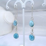 Larimar-Stone Larimar Earrings 2x Oval YO19 10907 49,00 €