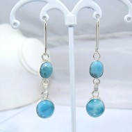 Larimar-Stone Larimar Earrings 2x Oval YO21 10909 49,00 €