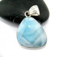 Larimar-Stone Larimar Pendant Freeform FR64 10927 34,90 €