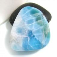 Ларимар галтованный HL32 10781 Larimar-Stone