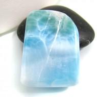Ларимар галтованный HL37 10786 Larimar-Stone