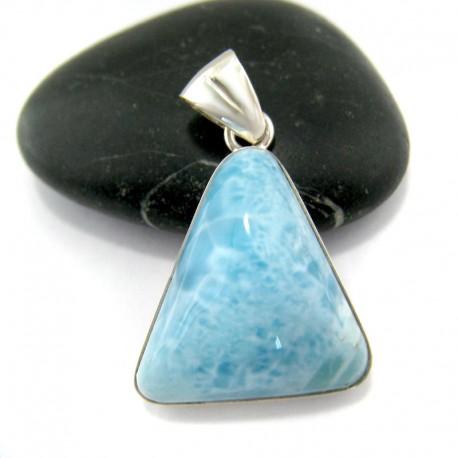 Ларимар треугольник LD5 10935 Larimar-Stone