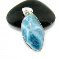 Larimar-Stone Larimar Pendant Freeform FR69 10938 59,90 €