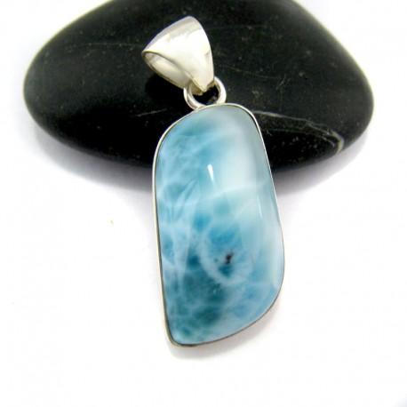 Larimar-Stone Larimar Pendant Freeform FR70 10939 49,90 €