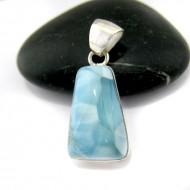 Ларимар kулон свободной форме FR74 10943 Larimar-Stone